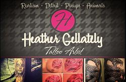 Tattoo Artist Heather Gellately