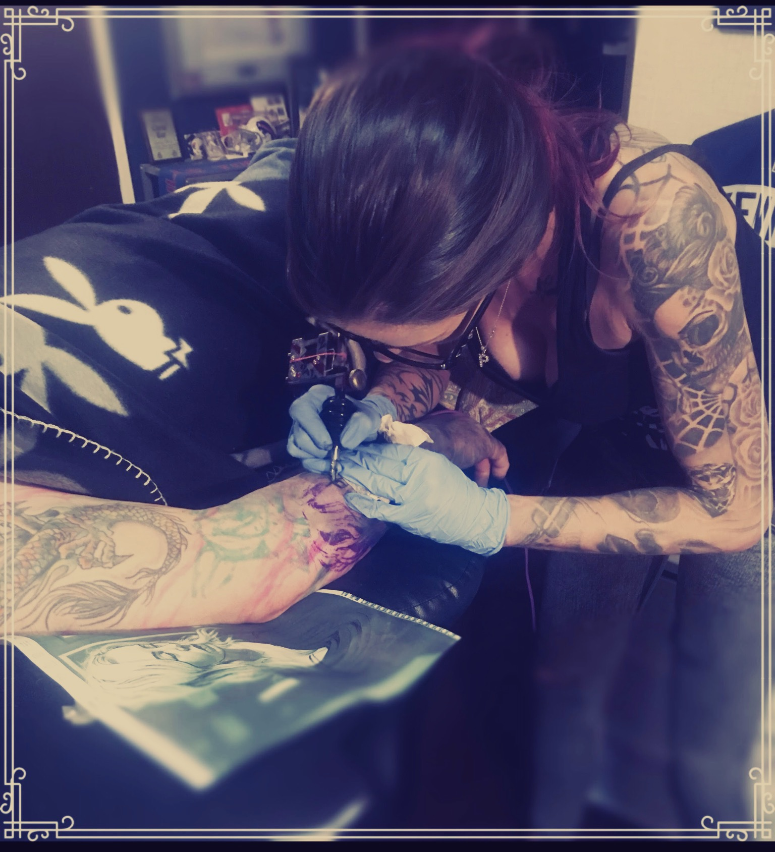 Tattoo Artist Heather Gellately