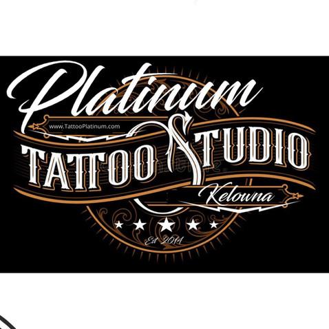 Platinum Tattoo Kelowna Logo