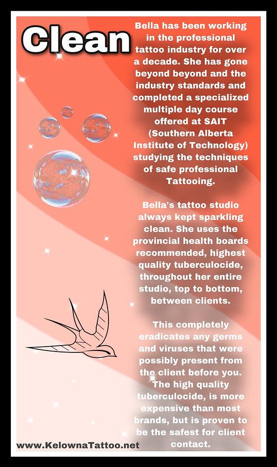 Kelowna Platinum Tattoo Clean