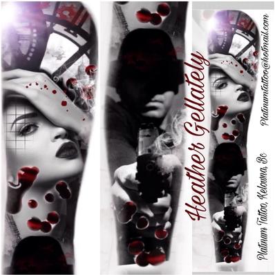 CUSTOM Tattoo sleeve design
