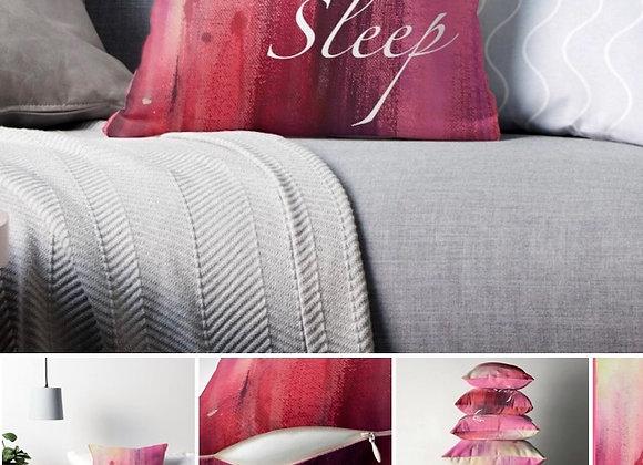 Sleep throw pillows
