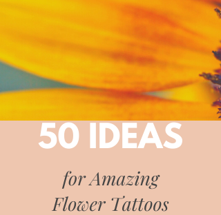 50 Ideas for Amazing Flower Tattoos