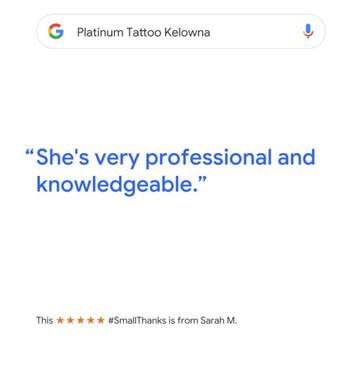 platinum tattoo kelowna review