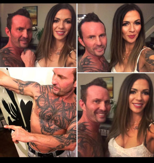 Fun with the tattoo clients!