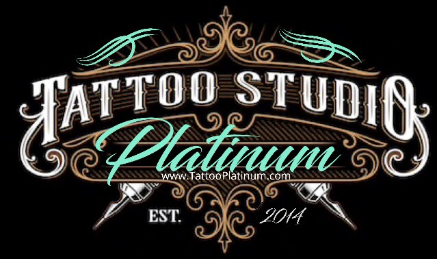 Platinum Tattoo Studio Logo
