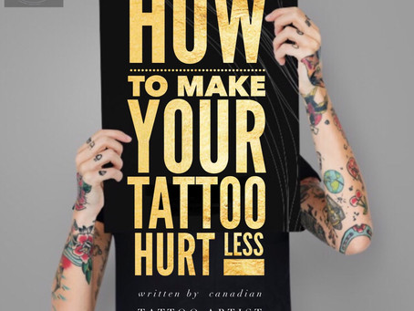 How to make your tattoo Hurt Less