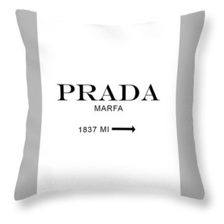 Logo Branding Pillow design for Prada