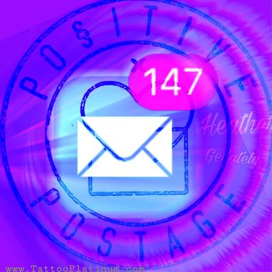 Positive postage icon