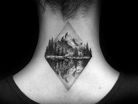 Simple Mountain Tattoos