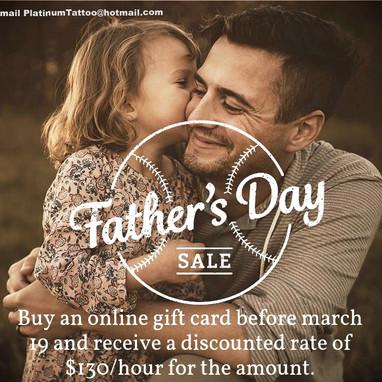 Father's Day Ad Design