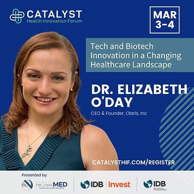 Olaris CEO Featured on Catalyst Health Innovation Summit Panel