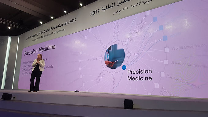 Olaris CEO talks Precision Medicine at Strategic Session with the Ministers of the UAE