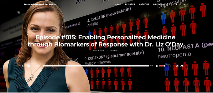 Inspiration on the Personalized Medicine Podcast