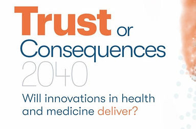 Olaris CEO, Dr. Elizabeth O'Day, contributes to USP's Trust or Consequences 2040 Report