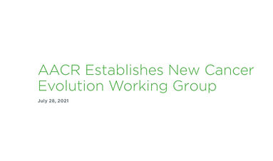 Olaris CEO Joins New AACR Working Group on Cancer Evolution