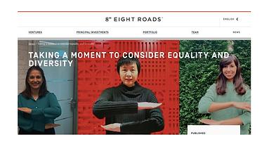Olaris CEO, Dr. Elizabeth O'Day, highlighted in Eight Roads blog as inspiring entrepreneur