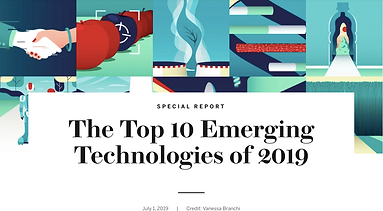 """Scientific American releases """"Top 10 Emerging Technologies of 2019"""" with contributions from Dr. Elizabeth O'Day"""