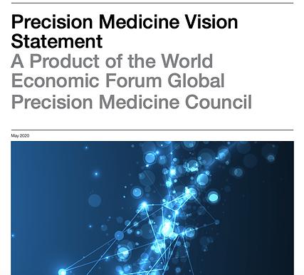 World Economic Forum releases final Vision Statement for Precision Medicine