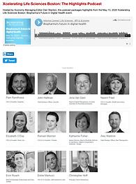 Xconomy Xcelerating Life Science Highlight Podcast Featuring Olaris CEO Dr. Elizabeth O'Day
