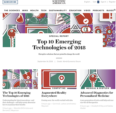 Advanced Diagnostics Are Featured in Scientific American's Top Emerging Tech of 2018