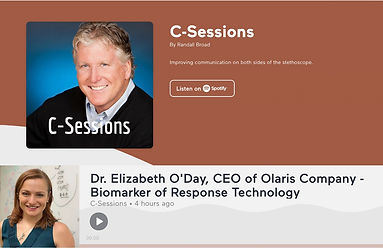 Olaris BoR Technology on C-Sessions with Randall Broad