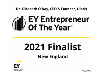 Olaris CEO Selected As 2021 Entrepreneur of the Year New England Finalist
