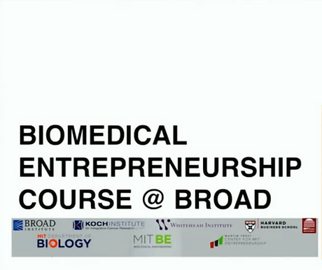 Olaris CEO lectures at the Broad on innovation in biotech and in the diagnostic space
