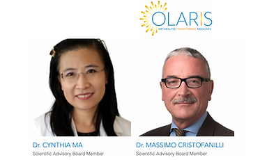 World-leading Breast Cancer Oncologists Cynthia Ma MD, PhD and Massimo Cristofanilli, MD to Join Olaris Scientific and Medical Advisory Board