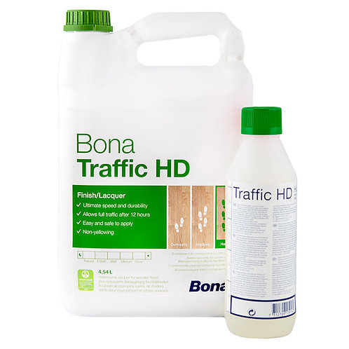 Bona Traffic HD 4.55l + 0.4l Hardener - Extramatt, Matt, Silkmatt