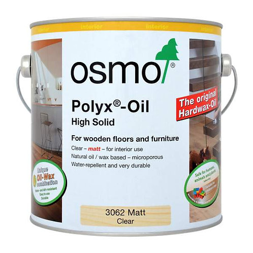Osmo Polyx-Oil Original - 0.75l Clear - Matt, Satin, Glossy, Semi-Matt