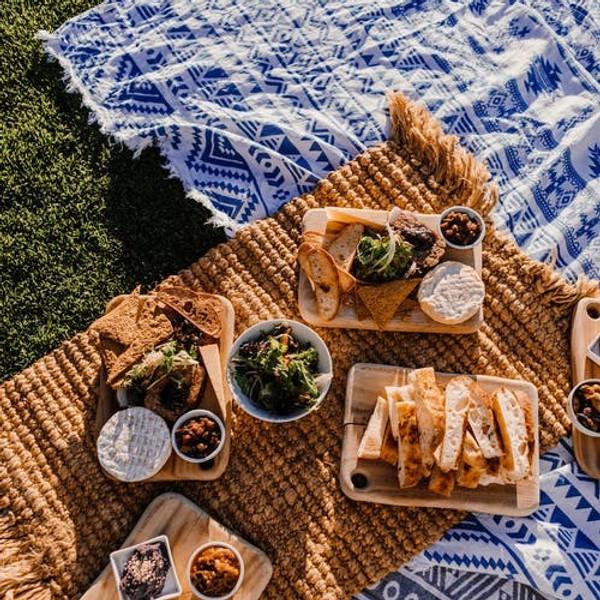 Picknick in't stad