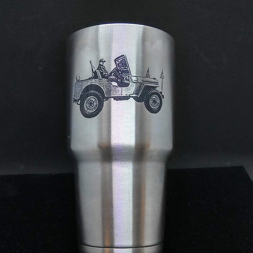 30 oz Double walled tumbler - engraved