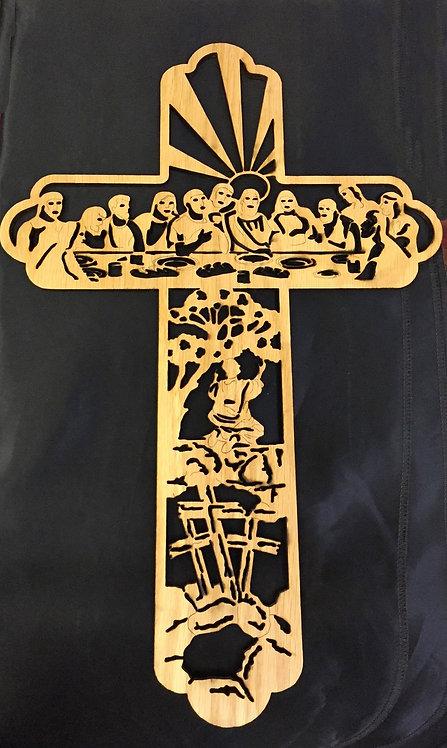 Last Supper Cross