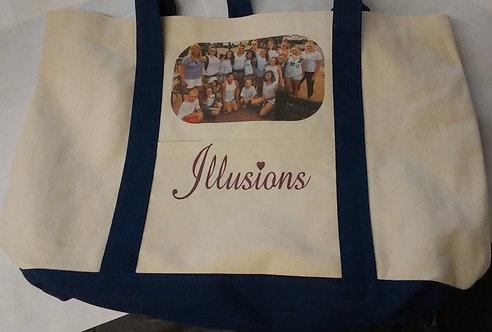 Canvas Tote Bag W/ Photo
