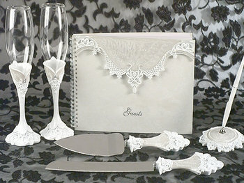 Victorian Lace Wedding - Reception Collection