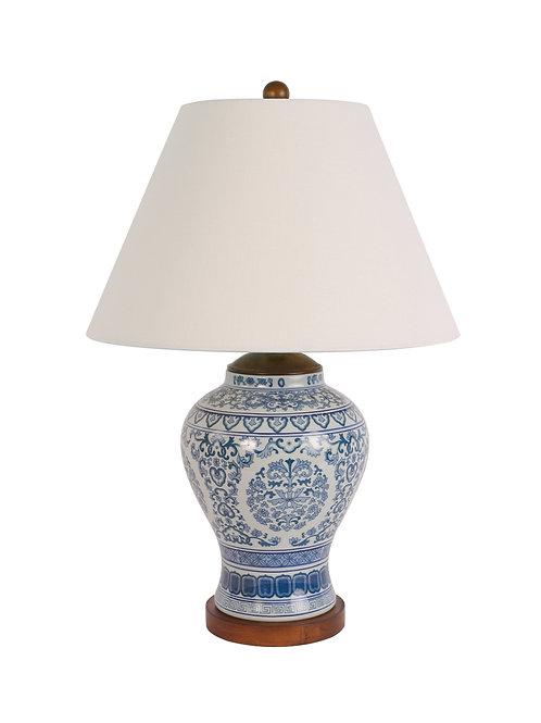 Ralph Lauren Chinese Blue & White Meredith Lamp