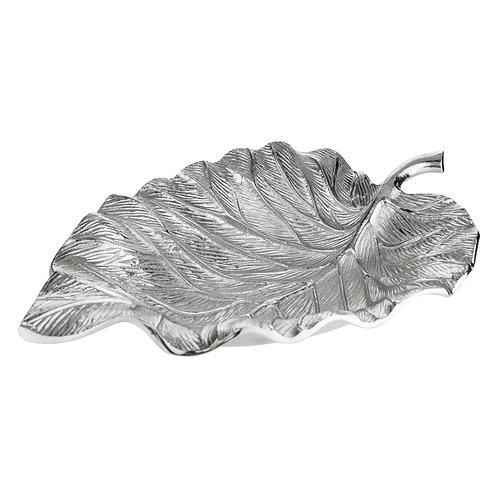 Leaf Silver Decorative Ornament