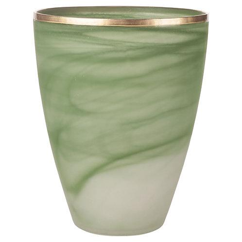 Verde Art Vase