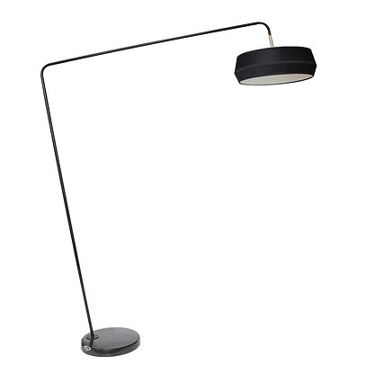 Belga Floor Lamp With Marble Base
