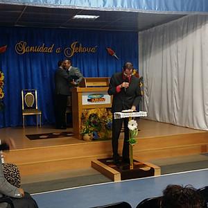 Visita Rev. Carlos Medina junto a su esposa Marbelis De Medina