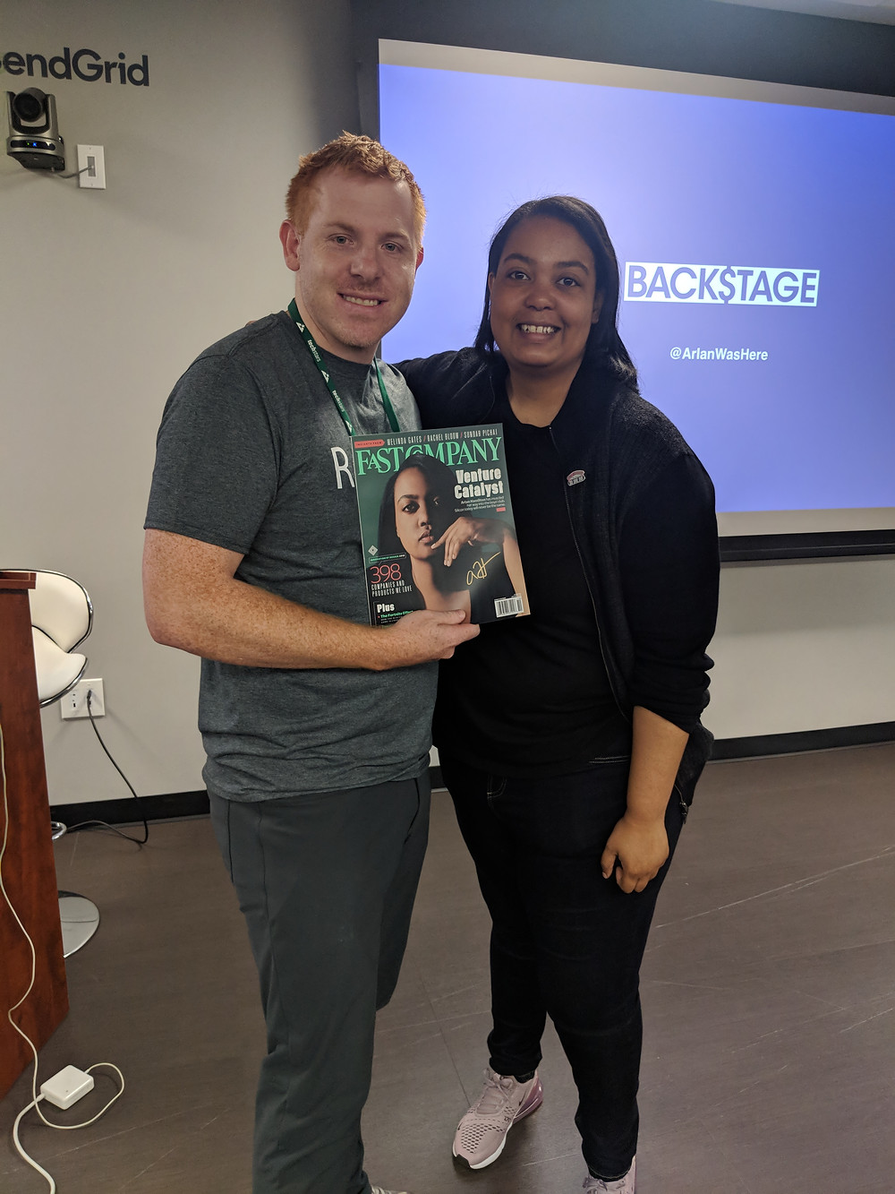 Meeting the founder of Backstage Capital Arlan Hamilton