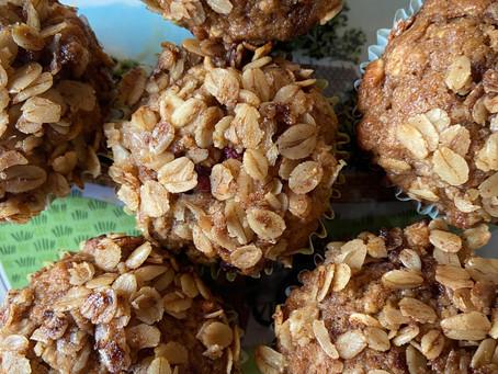 Breakfast of the Week: Oatmeal Applesauce Pear Muffins