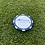 Thumbnail: Traditional Baby Blue Southpaw Golf Poker Chip Ball Mark