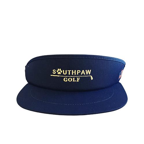 Navy Blue Southpaw x Imperial Tour Visor