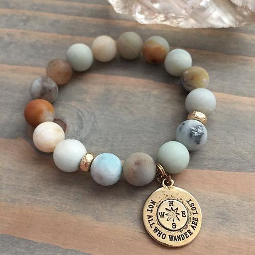 Wanderer Charm Bracelet + Gold