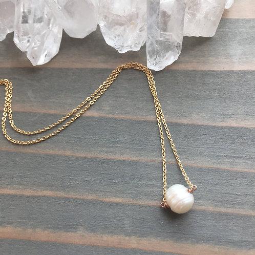 Princess Bride Pearl Necklace
