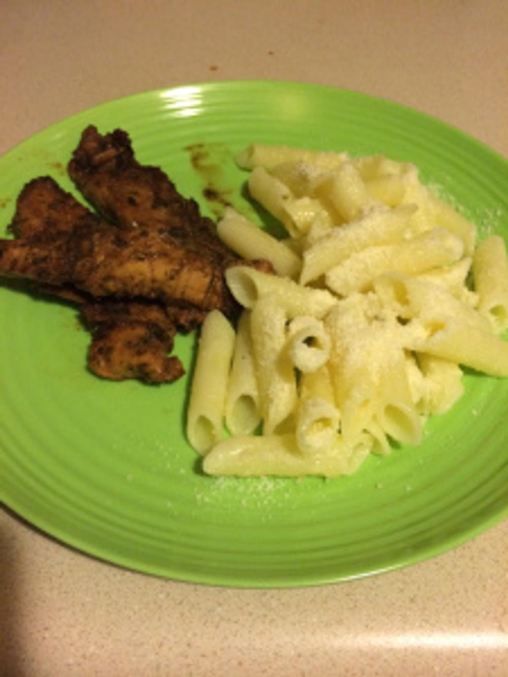 Worcestershire Chicken & Pasta