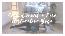 online restorative yoga course