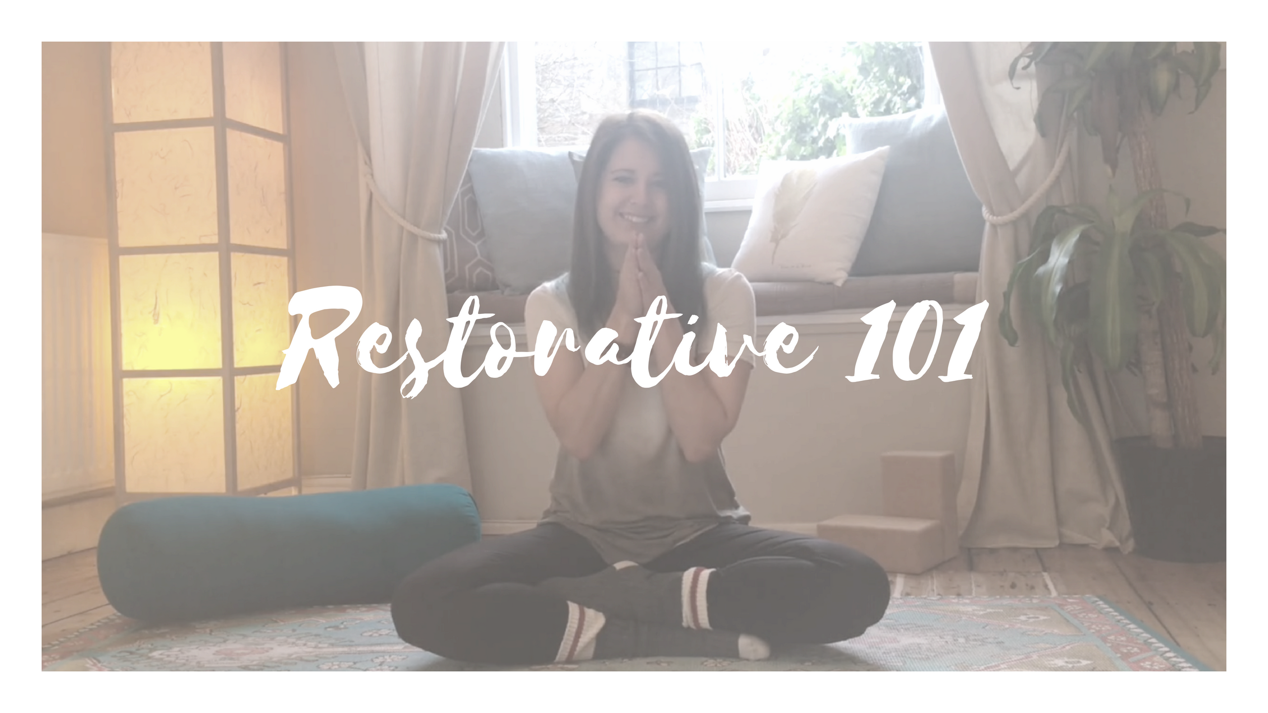 online restorative yoga course